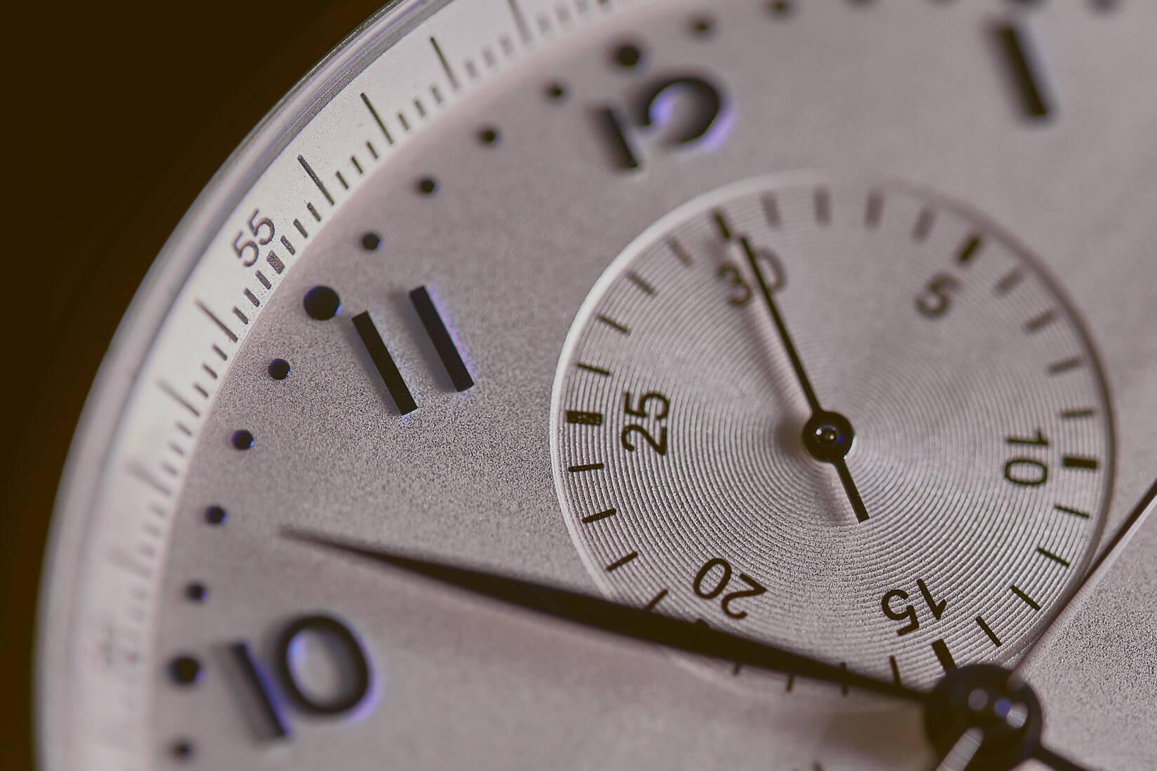 Symbolbild Uhr - Zeit Tracken über GTM