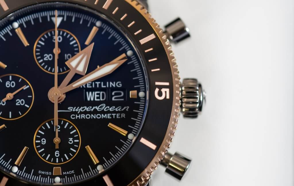 Breitling watch Superocean Chronometer