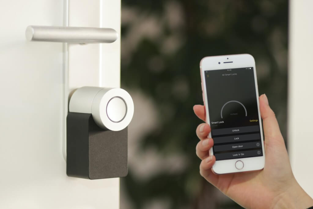 Smart Lock mit Smartphone