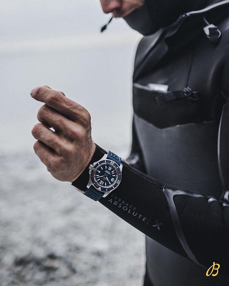 Breitling watch surfer
