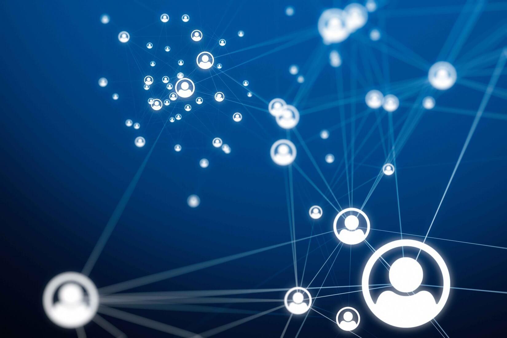 Virtuelle Facebook Connections von Profilen
