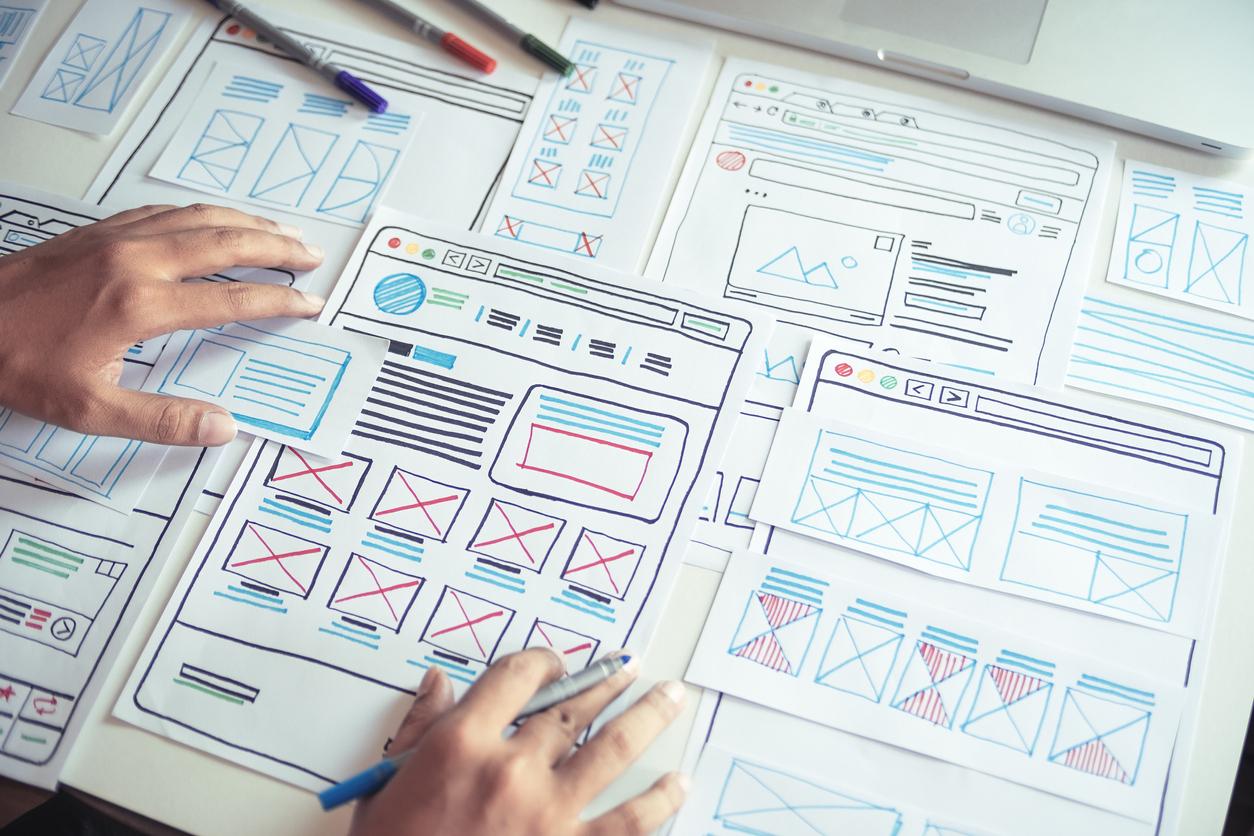 Landingpage Designkonzept für SEA Kampagnen